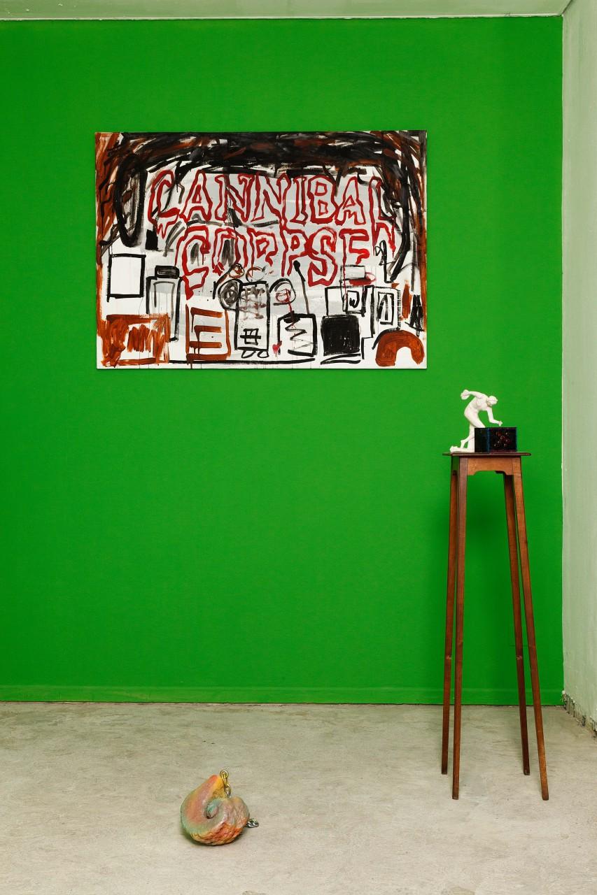 """Exposition """"DREI DREI DREI"""" du 4 au 28 septembre 2014 à l'Espace LABO à Genève avec Greg Hug, Beat Lippert et Hadrien Dussoix"""